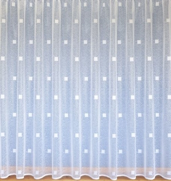 White modern voile net curtain all sizes available ebay for Living room net curtains