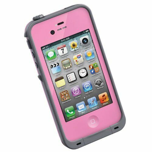 lifeproof lpiph4cs02pk case for iphone 4 and 4s retail packaging pink ebay. Black Bedroom Furniture Sets. Home Design Ideas