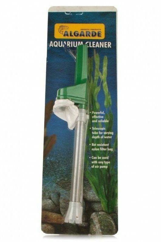 Algarde aquarium gravel cleaner fish tank vacuum cleaning for Fish cleaning gloves