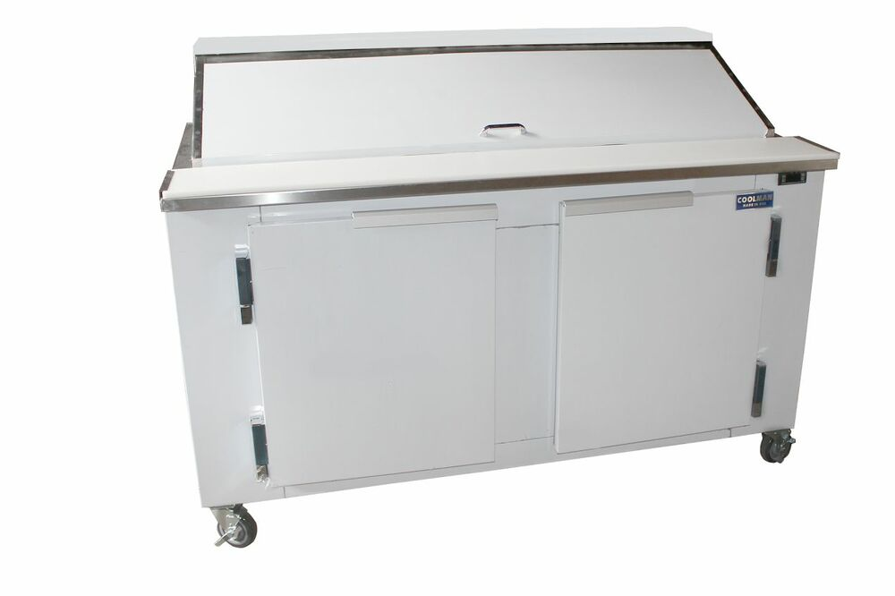 Coolman Commercial Refrigerated Sandwich Prep Table 60 Quot Ebay