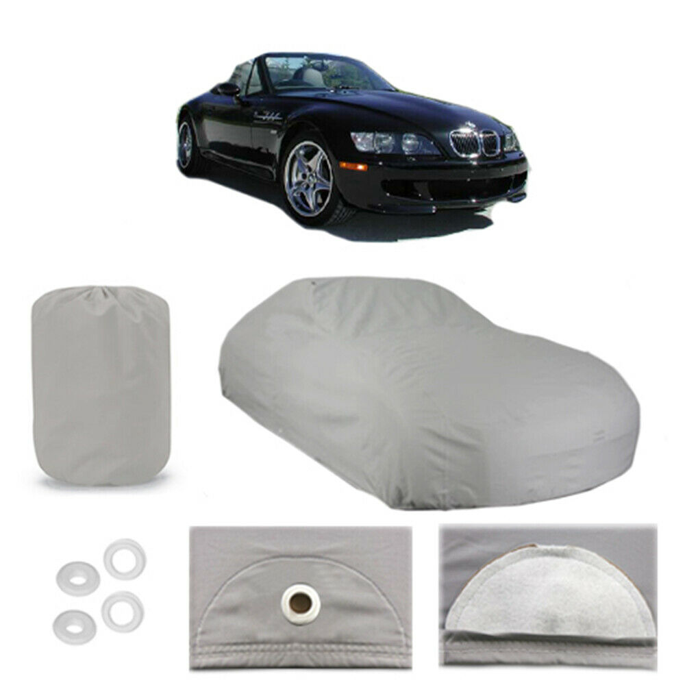 Bmw Z3 Car Cover: 1996-2002 BMW Z3 6 Layer Car Cover Fitted Water Proof Snow