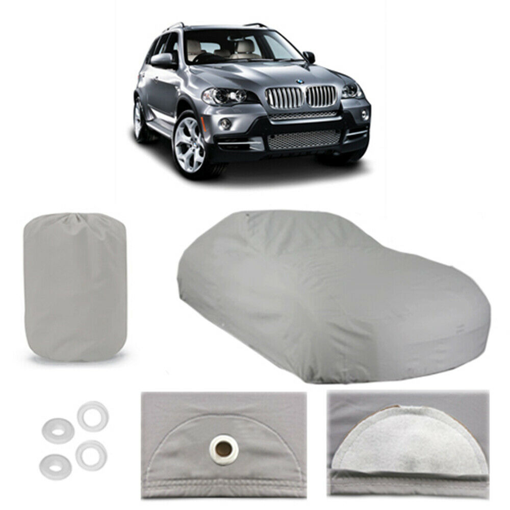 BMW X5 5 Layer Car Cover Fitted In Out Door Water Proof