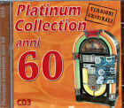 ANNI 60 PLATUNUM COLLECTION VOL. 3 CD SEALED SIGILLATO