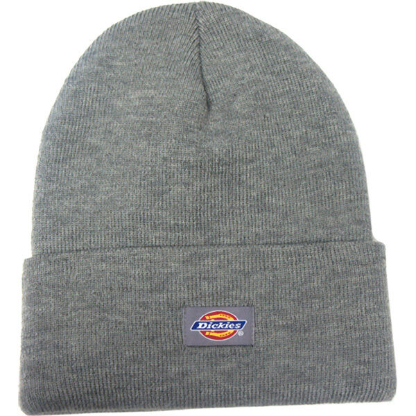 aa0869aa5bf Dickies Mens 14-Inch Cuffed Double Knit Cap Beanie Hat Skull NEW Blue