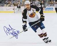 DUSTIN BYFUGLIEN Signed ATLANTA THRASHERS 8X10 Photo w/COA