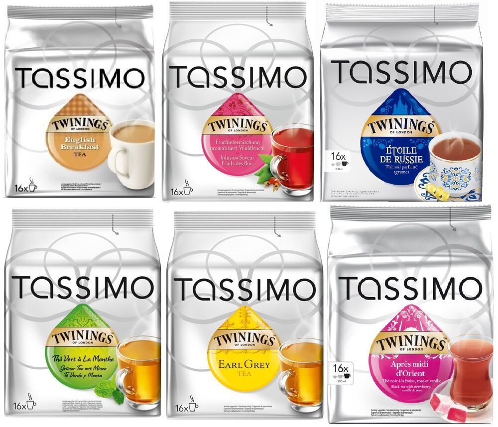 Bosch Tassimo Costa Coffee Pods