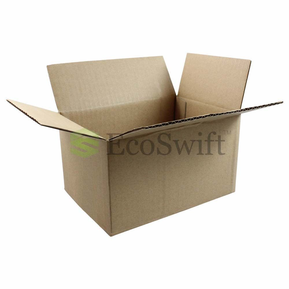 100 7x5x4 cardboard packing mailing moving shipping boxes. Black Bedroom Furniture Sets. Home Design Ideas