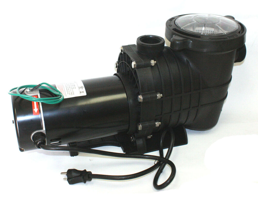 115 230v 1 5 hp inground above ground swimming pool water pump 5280gph ssp1500 ebay for Swimming pool pumps for above ground pools