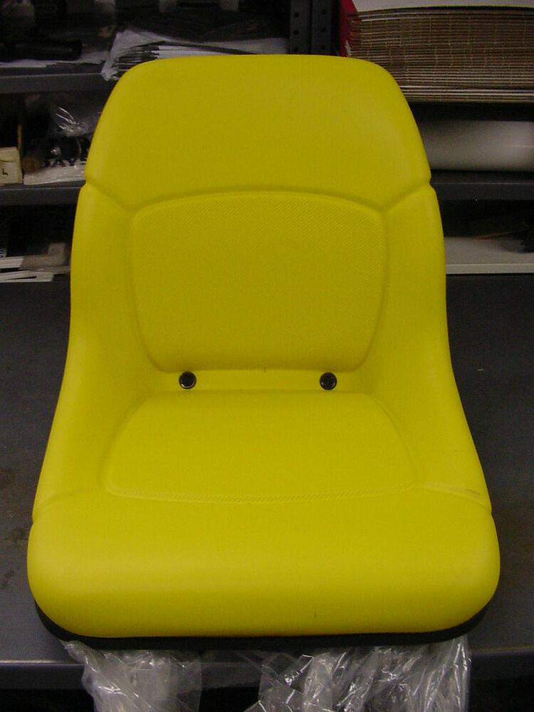 John Deere 445 Tractor Seats Replacement : John deere genuine oem seat am high back