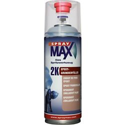 Kyпить SprayMax Spray Max 2K Epoxy Grundierfüller grau Spray EP Grund 400ml K680033 на еВаy.соm