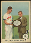 1959 Fleer Baseball Ted Williams #32 Most Valuable Player NMMT C02094