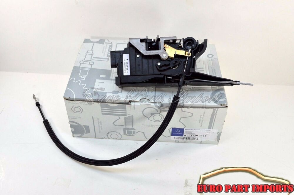 Mercedes w163 left driver front door lock vacuum actuator for Door lock germany