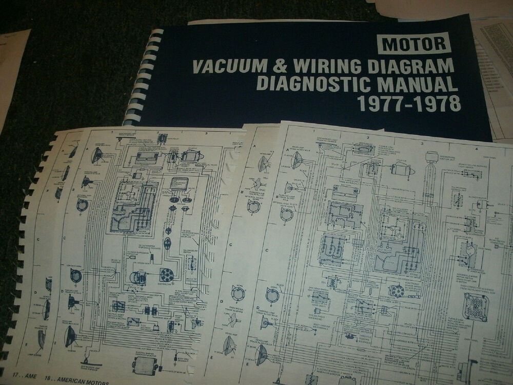 1977 1978 Chrysler Cordoba Dodge Charger Magnum Monaco Wiring Vacuum Diagrams