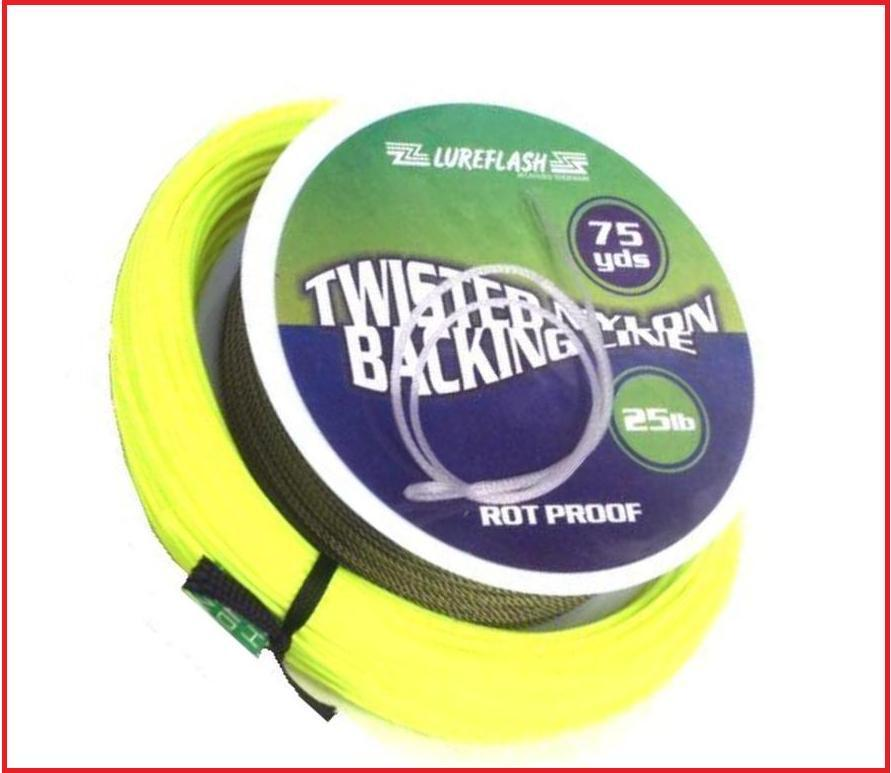 Lureflash weight forward floating fly fishing line backing for Fly fishing leader