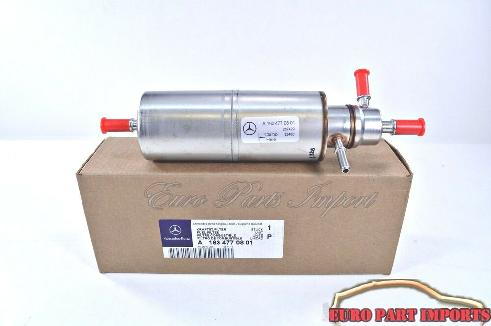 Mercedes benz w163 ml320 ml350 ml500 fuel filter germany for Mercedes benz fuel filter
