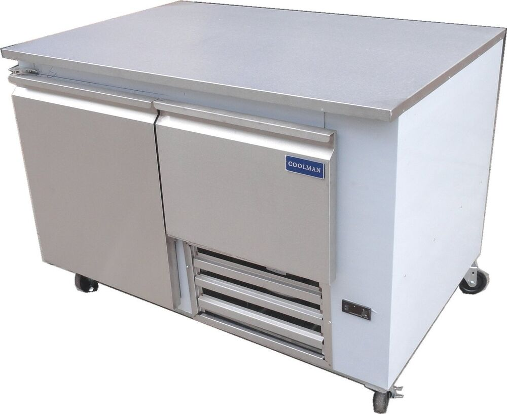 Coolman commerical 1 door 1 drawer low boy worktop for 1 door chiller