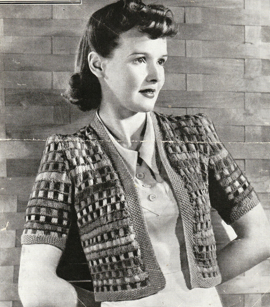 Vintage 1940s knitting pattern-how to make a cute odds ...