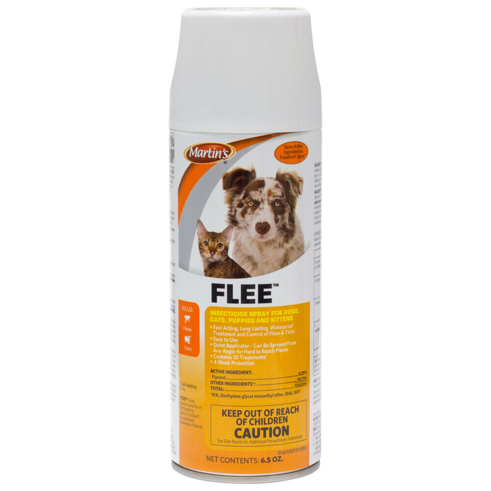 Fipronil Flea Spray For Dogs Cats Puppies Martin S Flee