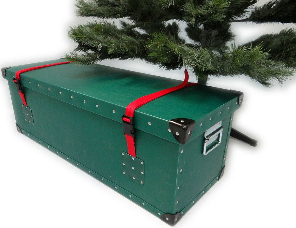 Artificial Christmas Tree Luxury Storage Box Container ...
