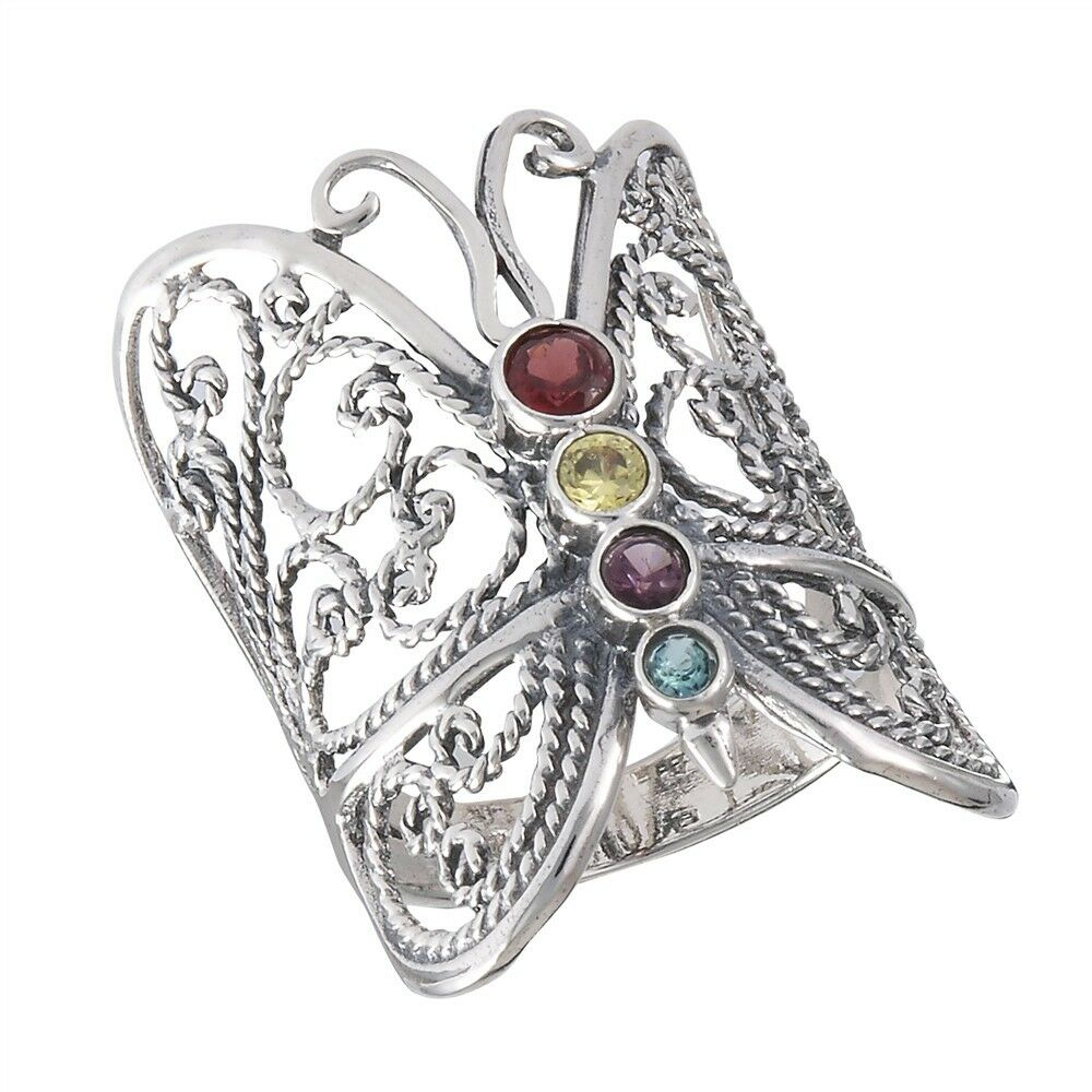 Butterfly Silver Ring Sale