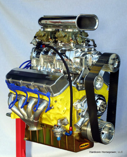 540ci Big Block Chevy Parts Kit; DIY 1,000hp+ Blown Pro