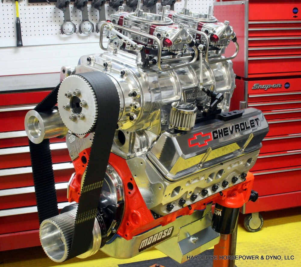 427ci Small Block Chevy Pro-Street Engine Blown 775hp