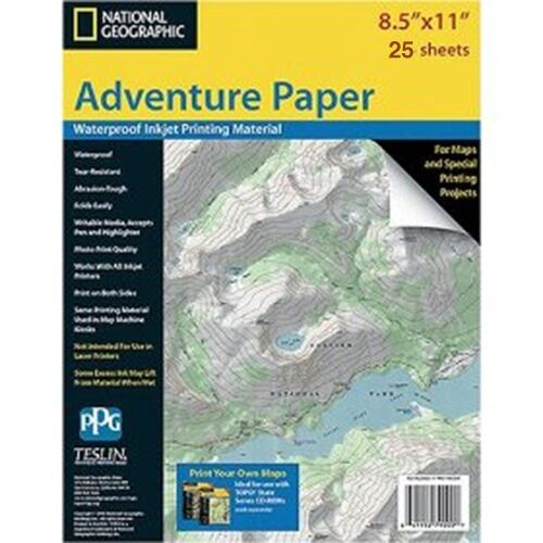 National geographic adventure paper inkjet printers