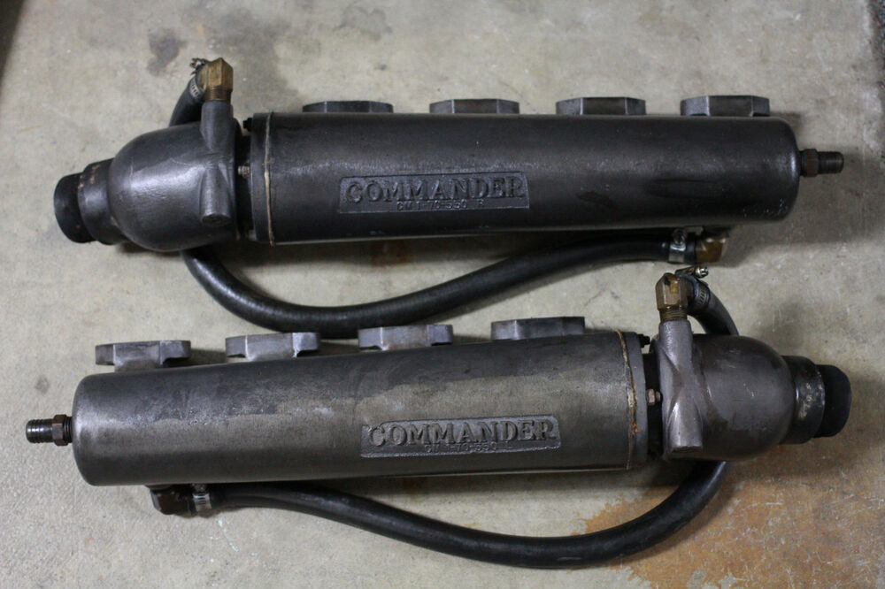 Marine Exhaust Manifolds : Ford commander windsor marine exhaust manifolds ebay