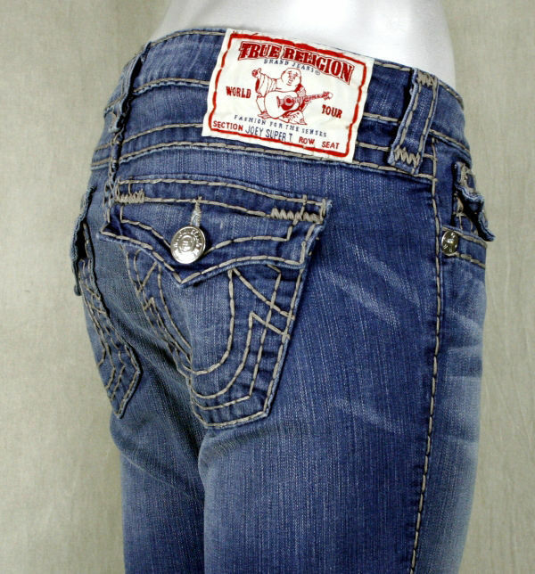 true religion jeans womens ham industrial grey stitch