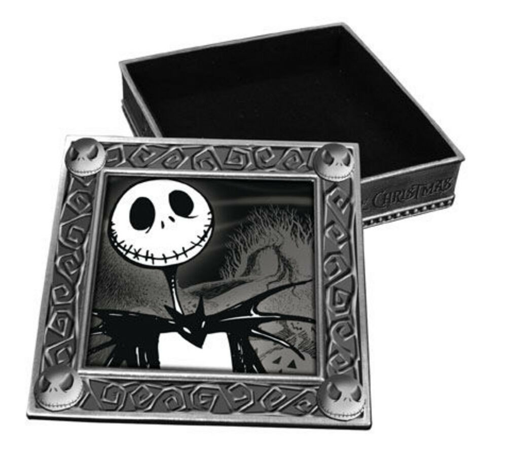 NIGHTMARE BEFORE CHRISTMAS SMILING JACK JEWELRY BOX