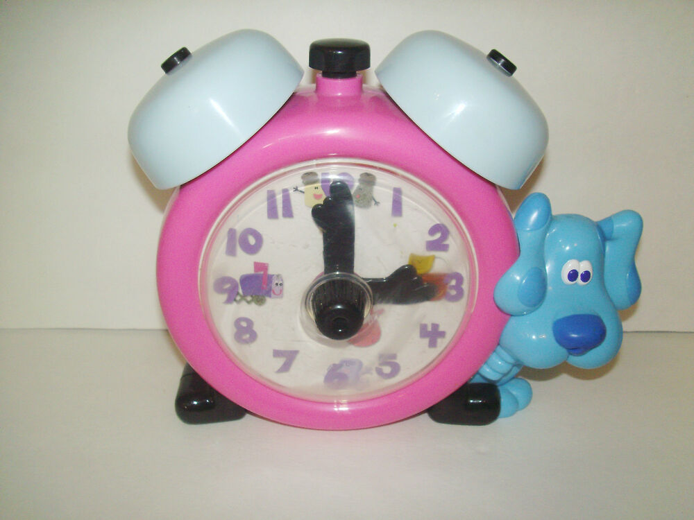 BLUES CLUES TALKING & COUNTING TICKETY CLOCK - EDUCATIONAL ...