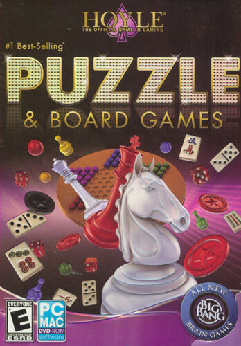 New Box Games : Hoyle puzzle board games for pc mac sealed new box