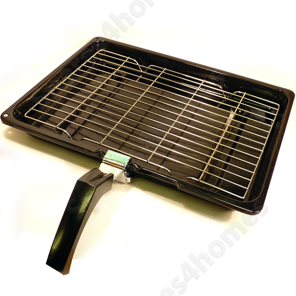 general electric oven grill pan tray 380mm x 280mm ebay. Black Bedroom Furniture Sets. Home Design Ideas