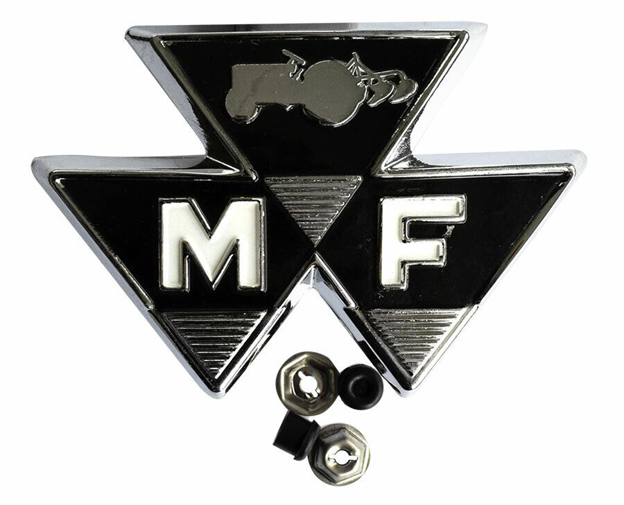 zeichen emblem f r massey ferguson mf 35 vorn triangle ebay. Black Bedroom Furniture Sets. Home Design Ideas