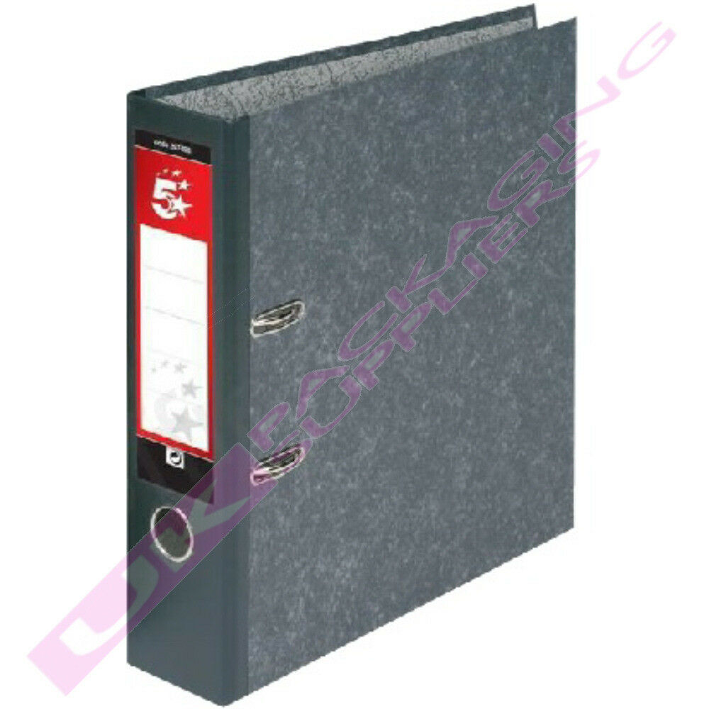 A4 LEVER ARCH RING BINDERS FILING STORAGE 2 5 10 20 30 50