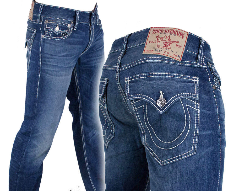 True Religion Brand Men's Classic Jeans General Lee