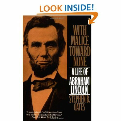 a summary and review of with malice toward none by stephen b oates Summary of with malice toward none: the life of abraham lincoln by stephen b oates below is a list of with malice toward none: the life of abraham lincoln cliff notes and with malice toward none: the life of abraham lincoln sparknotes.