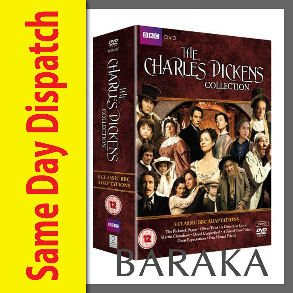 charles dickens collection dvd box set r mini tv series bbc charles dickens collection dvd box set r4 mini tv series 8 bbc adaptations new