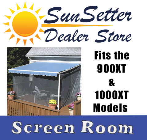 SunSetter Screen Room for 900XT & 1000XT Models Canopy ...