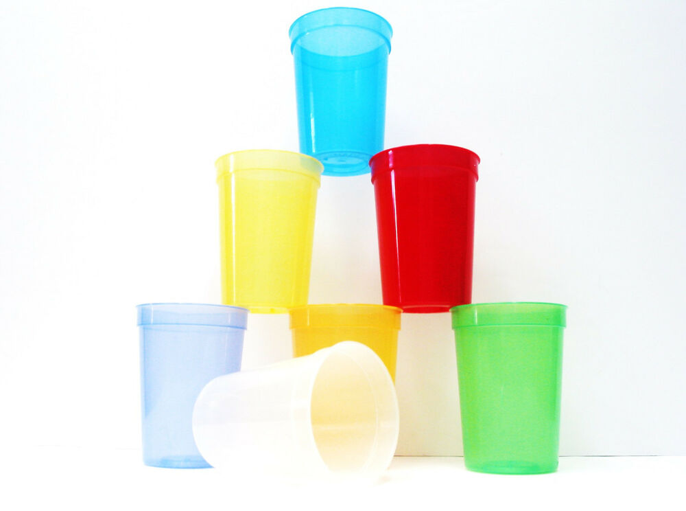 500 translucent plastic small 12 ounce drinking glasses for Small plastic cups
