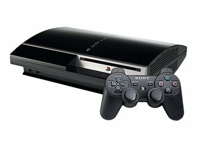 PLAYSTATION 3 (PS3) 80 GB UNIT-ALSO PLAYS PS2 GAMES! 3.55 ...