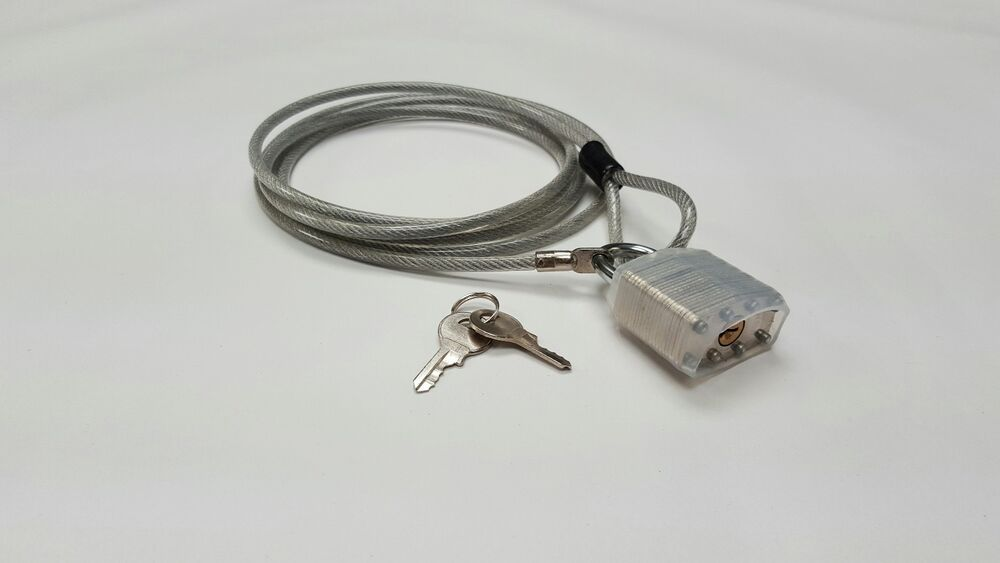Car Cover Lock Kit : Outdoor car cover lock cable security locking kit ebay