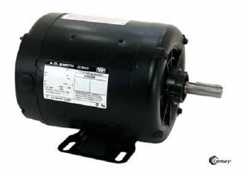 h437 1 2 hp 3450 rpm magnetek ao smith surplus motor ebay