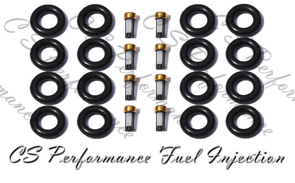 lincoln ford v8 fuel injector service repair rebuild kit orings filters cskrp18