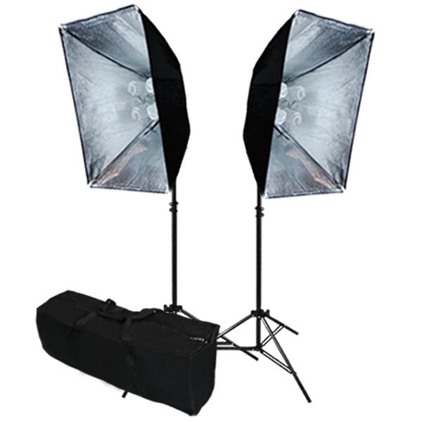 Optex Photo Studio Lighting Kit Review: Linco Studio Softbox Light Kit Photography Video Studio