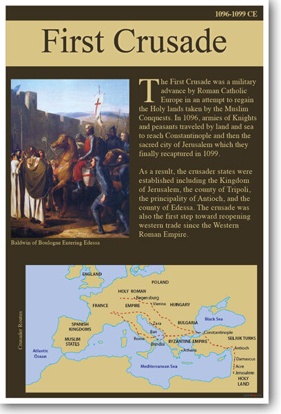 the crusades were launched to regain the holy land from muslims It is used as a counterweight to the muslim accusation that only the europeans launched crusades muslims seem to the land belonged to them in crusades were.