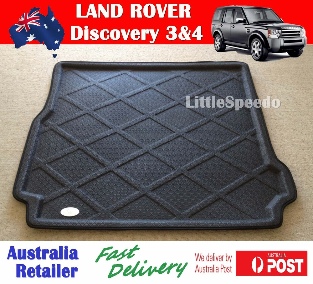 Rubber mats discovery 4 - Land Rover Discovery Series 3 Amp 4 Boot Liner Trunk Cargo Mat Aust Stock Fastpost Ebay