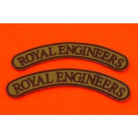 img-Royal Engineers Shoulder Titles Combat Jacket