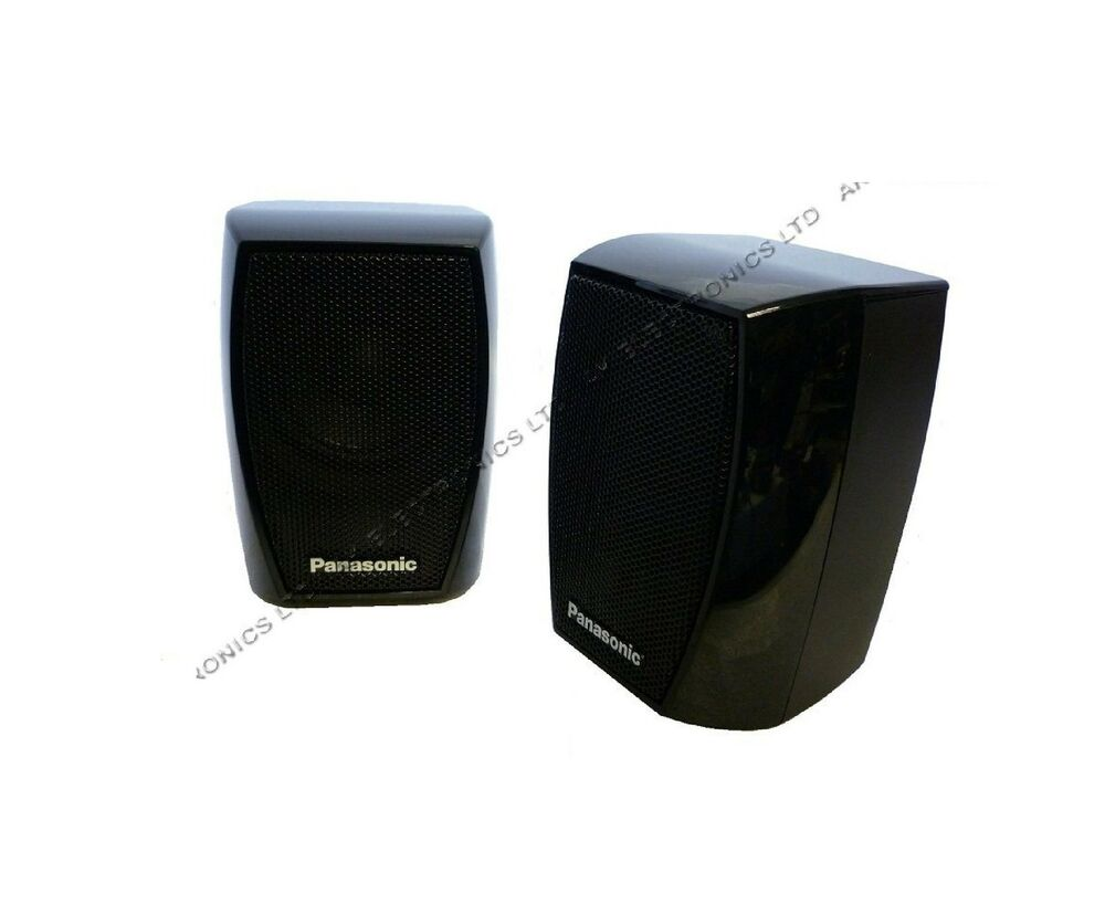 Panasonic Surround Hifi 2 Front Rear Speakers 400w For Blu