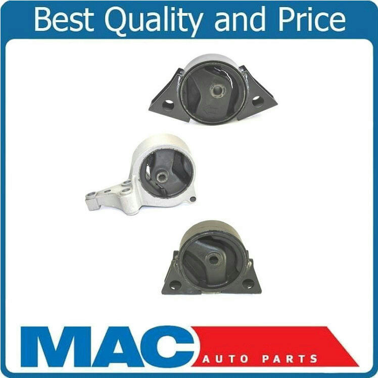 Front right rear engine motor mount 3pc kit for 2000 2001 for 2001 nissan altima window regulator